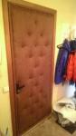 обшивка обивка перетяжка дверей дермантином (виниллискожей)