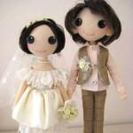 Свадебная кукла – стильная находка