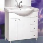 Тумба в ванной: как поместить все вещи?