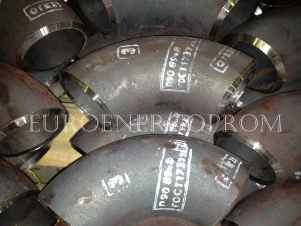 Отвод крутоизогнутый 90 гр ОСТ 34-42-663-84