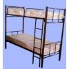 Кровати металлические - двухярусные  т/прикроватная.